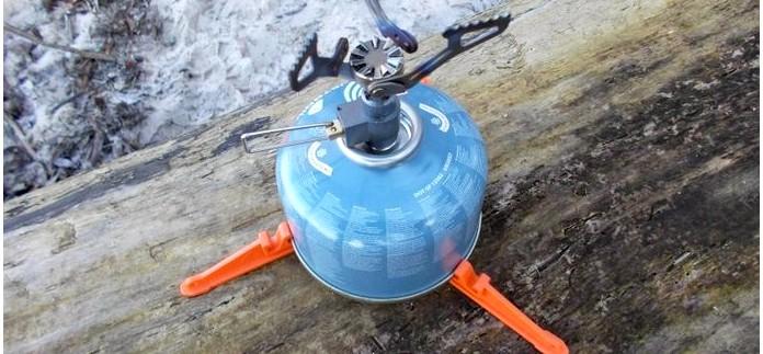 Ультралегкая газовая горелка BRS-3000T Hornet, внешний вид, устройство, описание и характеристики, общие впечатления, обзор.