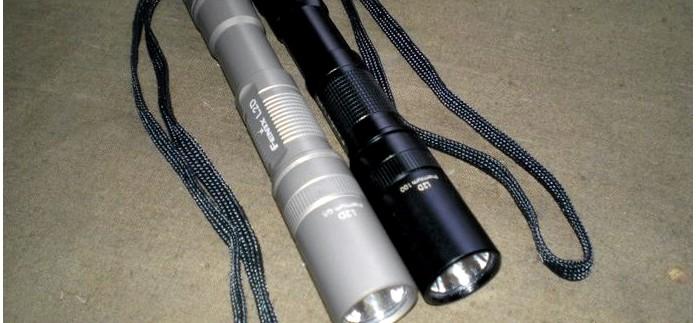 Фонарь Fenix Digital L2D Premium Q5, Olive, устройство, характеристики, обзор и отзыв.