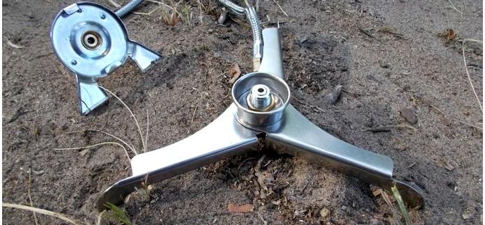 Переходник-подставка со шлангом Forrest Converter для работы газовых горелок резьбового стандарта epi-gas от цангового газового баллона, обзор.