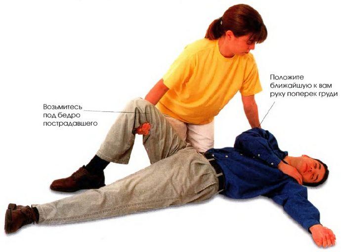 Потеря сознания, признаки, что надо делать для обеспечения проходимости дыхательных путей, первая неотложная помощь пострадавшему.
