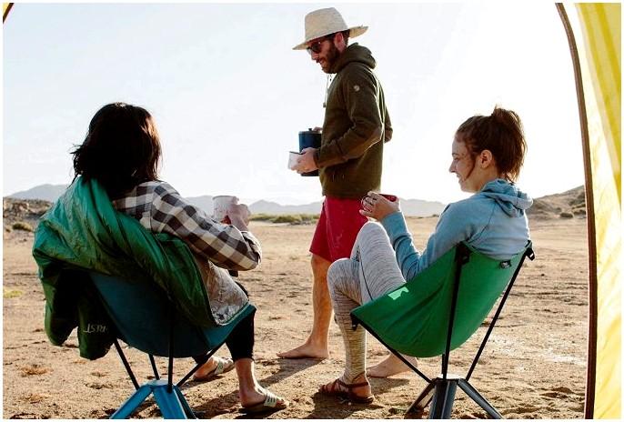 Стул лучших туристов: отдых на свежем воздухе в лучшем виде