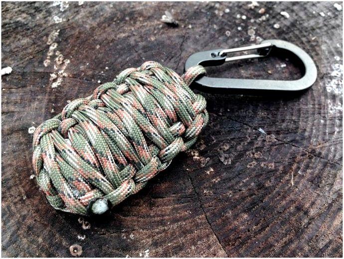 Паракордовая граната: комплект выживания