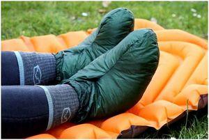 Лучшие кемпинговые пинетки: ботинки холодные!