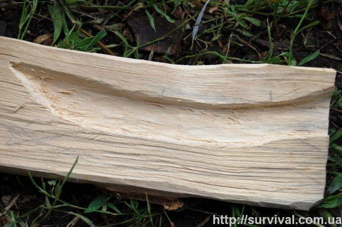 Изготовление ножа в полевых условиях, нож из подручных материалов, как самому сделать нож.