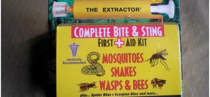 Набор Sawyer Extractor Pump Kit для удаления яда из змеиных укусов, укусов насекомых, пчел, ос, шершней, комаров, пауков, клещей.