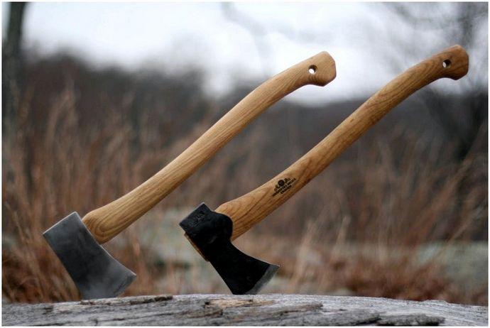 Типы топоров: что искать в топоре выживания
