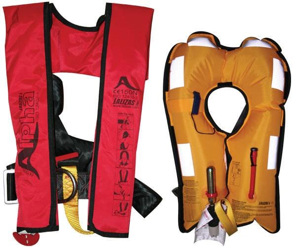 Безопасность при плавании на яхте, порядок действий при покидании яхты на спасательном плоту, спасательные жилеты и страховочные обвязки на яхте.