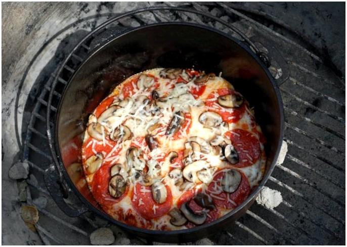 Рецепты походной печи: как приготовить легкие блюда из одного котелка