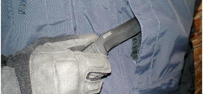 Туристический нож Пиранья от Кизляр, описание, обзор, тест и впечатления от использования.