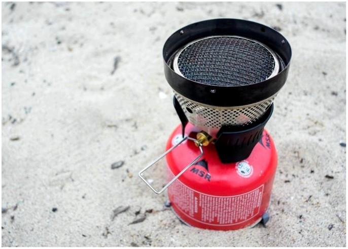 Печь MSR Windburner: лучшая ветрозащитная печь для туристов