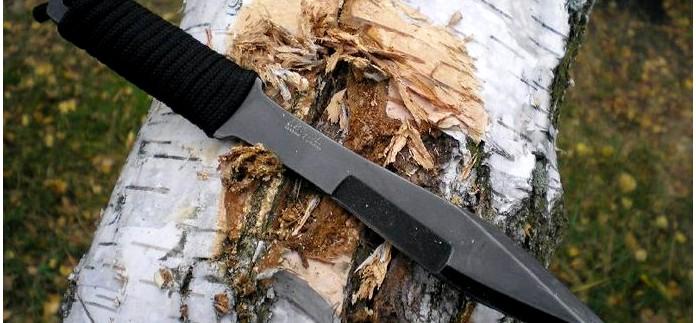 Туристический и метательный нож Стервец от Кизляр, описание, обзор, тест и впечатления от использования.