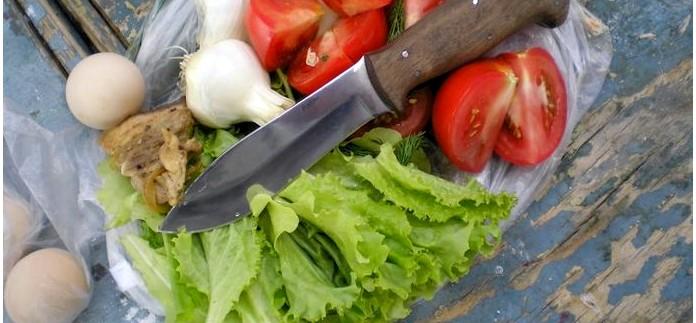 Туристический нож Варан от Кизляр, описание, обзор, тест и впечатления от использования.