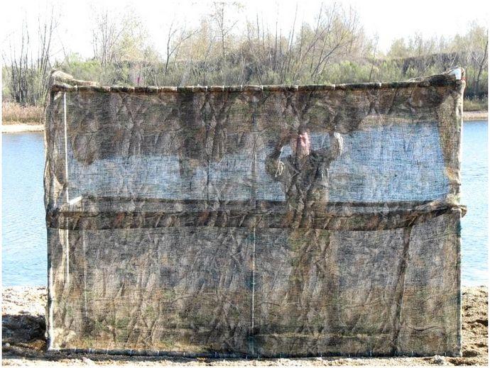 Как построить утиную шторку: три простых DIY утиных шторки для начинающего охотника