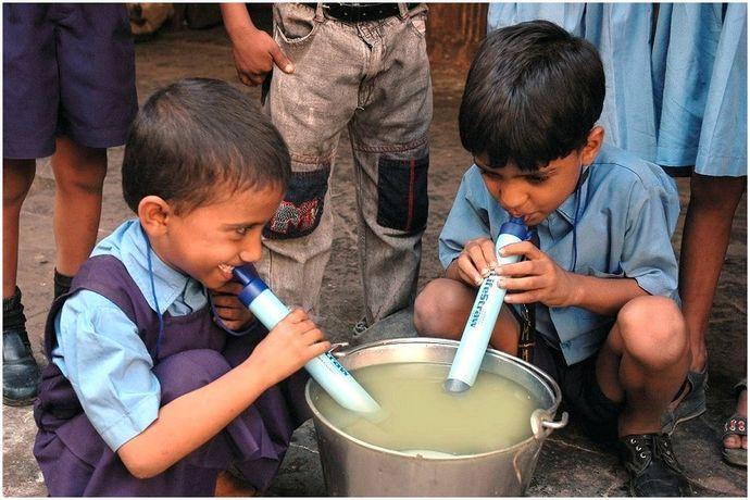 Обзор персонального фильтра для воды LifeStraw: чистая вода в вашем распоряжении независимо от местоположения