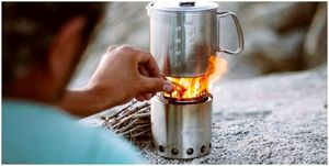 Сольный обзор походной печи: готовить на ходу без топлива