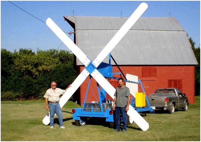 DIY ветряных турбин