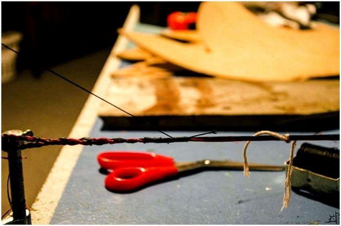 Как сделать тетиву: держите лук готовым