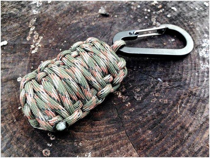 Paracord Keychain: DIY проекты для вашей безопасности и за деньги