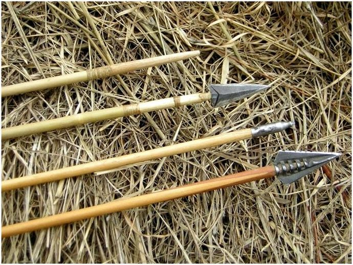 ПВХ лук и стрелы: научиться делать один