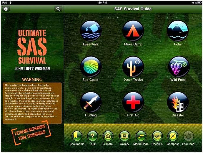 Приложения выживания: Топ 6 лучших приложений для выживальщиков