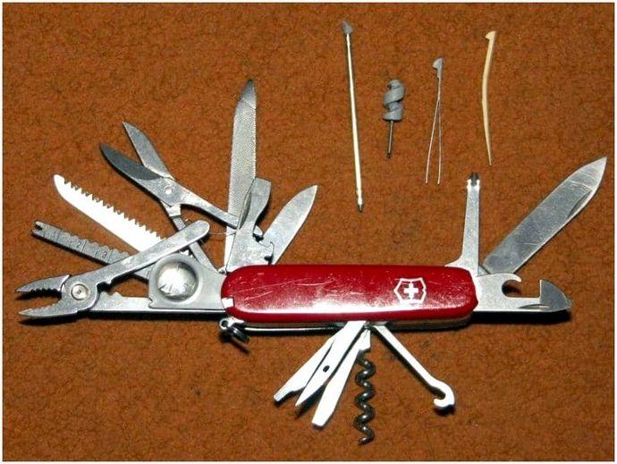 Лучший швейцарский армейский нож: выбери лучший инструмент, чтобы выжить