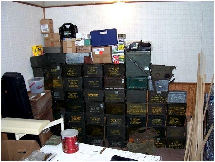 Хранение боеприпасов: боеприпасы готовы на десятилетия!