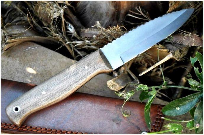 Лучший нож Bushcraft: типы лезвий и что нужно учитывать