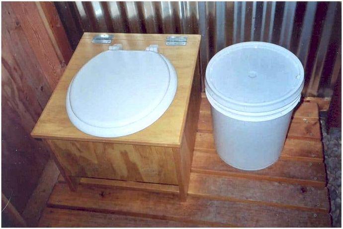 DIY WC Camping: держать отходы в бухте