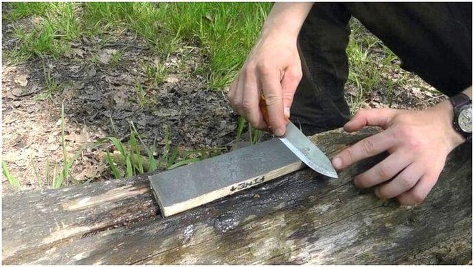 Как заточить нож: выживший ноу-хау