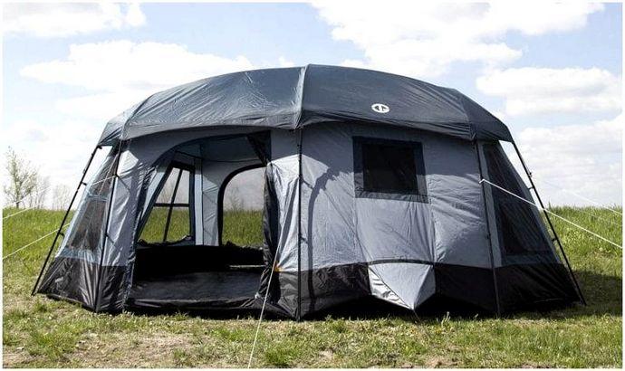 Роскошные кемпинговые палатки: от кемпинга до Glamping