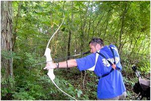Как стрелять из лука и стрелы: будь охотником!