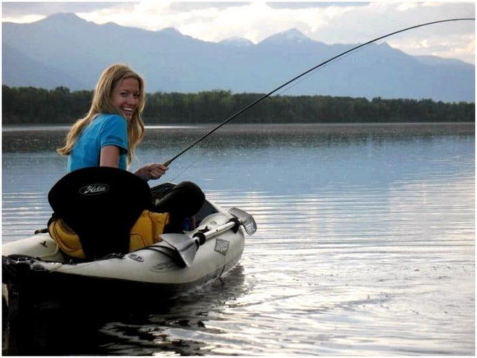 Лучший рыболовный каяк: против течения
