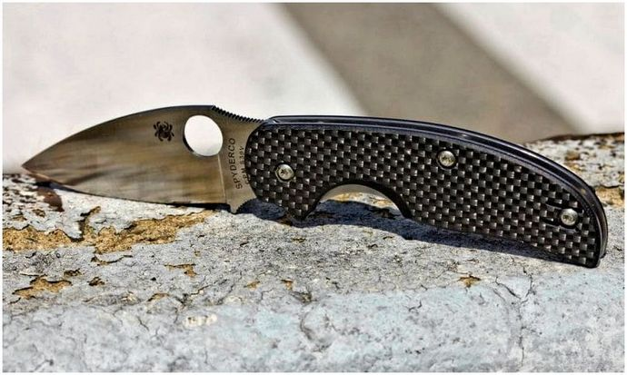 Лучший нож Spyderco: остро заточенный