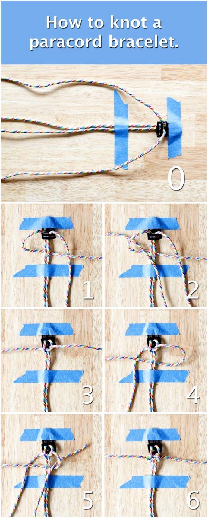 Как сделать браслет из парашютного шнура: лучшее руководство для специалистов по выживанию