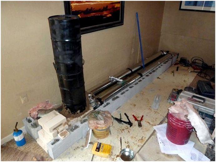 Массивный нагреватель ракетных печей: энергоэффективное производство тепла