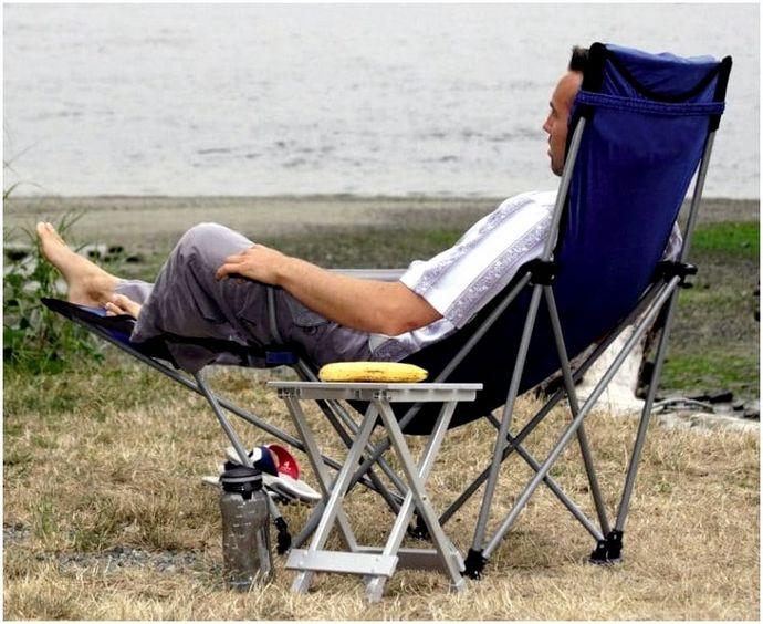 Лучший стул для кемпинга: как получить полный комфорт во время кемпинга