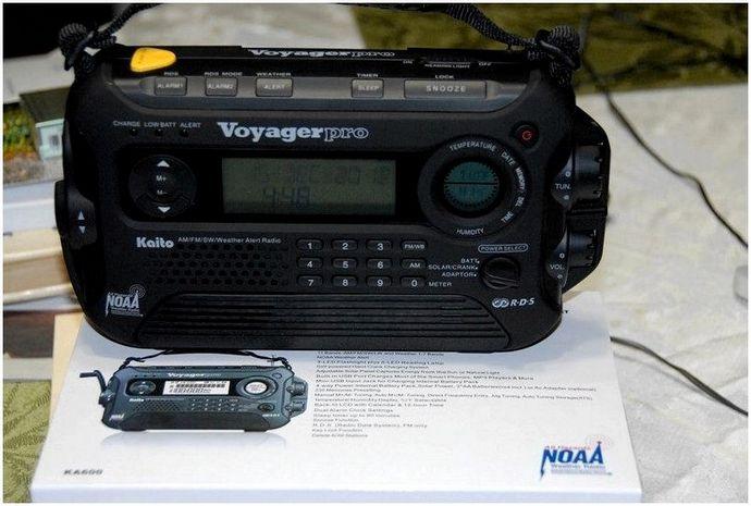Лучшее солнечное радио: руки на лучшем солнечном радио на рынке