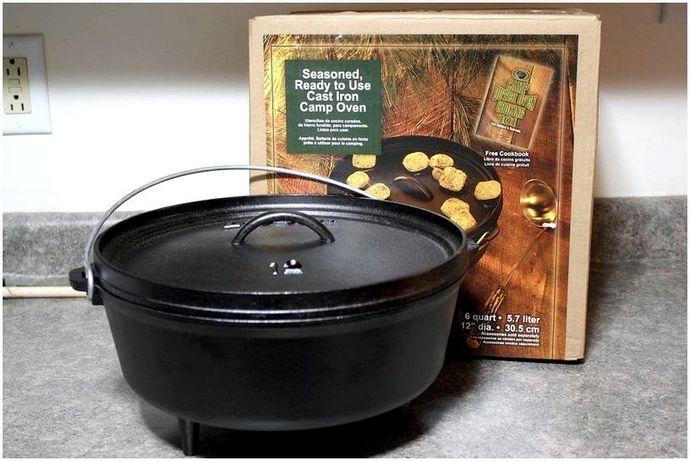 Посуда для костра: различное кухонное оборудование и продукты