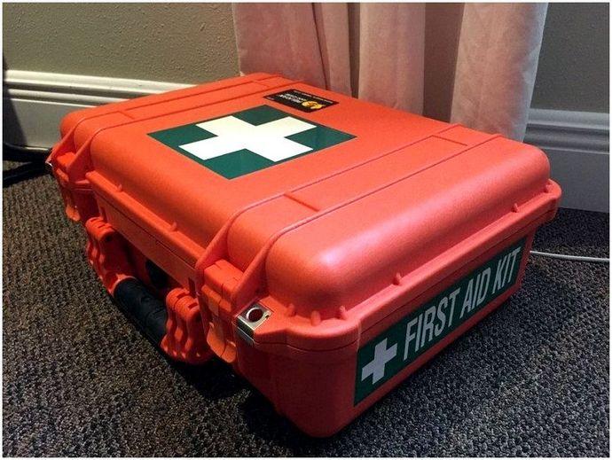 Аптечка первой помощи для кемпинга: аптечка первой помощи и готовые изделия