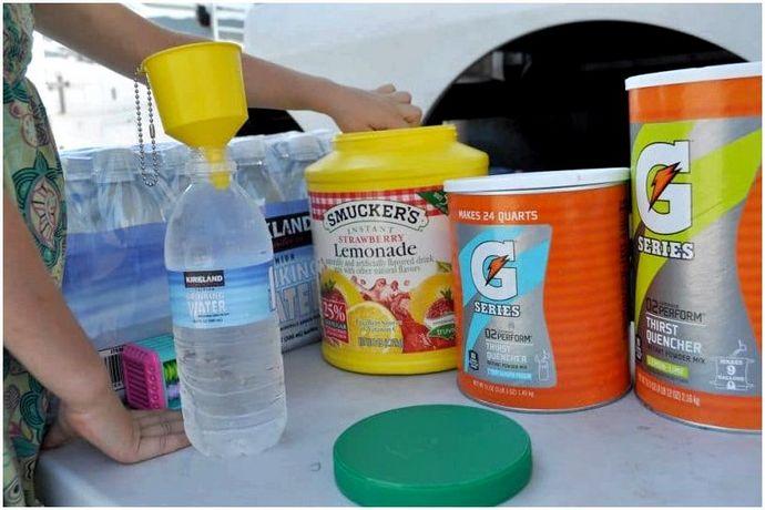 Список продуктов для кемпинга: Поддерживать питание