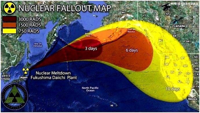 Ядерная карта дождя: знайте, с чем вы столкнулись