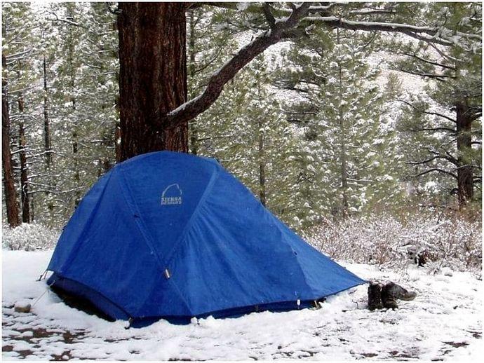 Зимние палатки: согреться