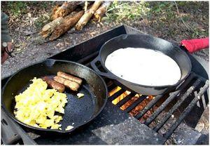 Завтрак в кемпинге: вкусная и легкая еда на утро
