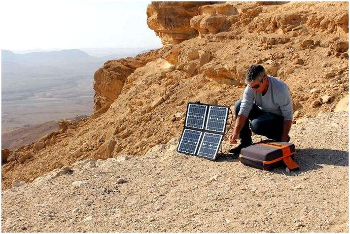 Обзор портативного солнечного генератора Kalipak 601_558 Вт