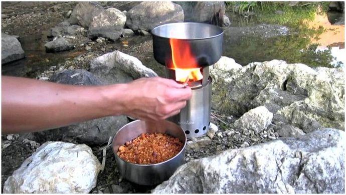 Сольный обзор печи: кемпинг и летняя кухня