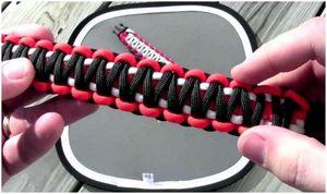 Инструкции для браслета Paracord: DIY браслеты