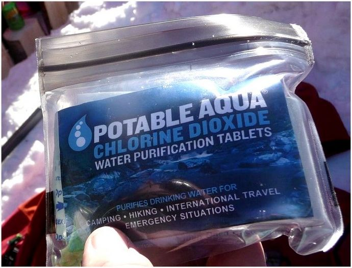 Таблетки для очистки воды: как они работают?