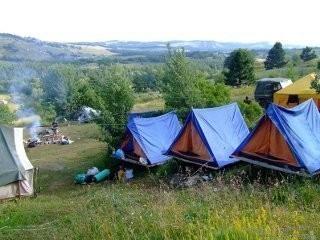 Оборудование лагеря в походе