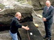 Древнейшее охотничье оружие человека выставлено в музее Германии