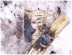 Добыча огня ручным сверлом